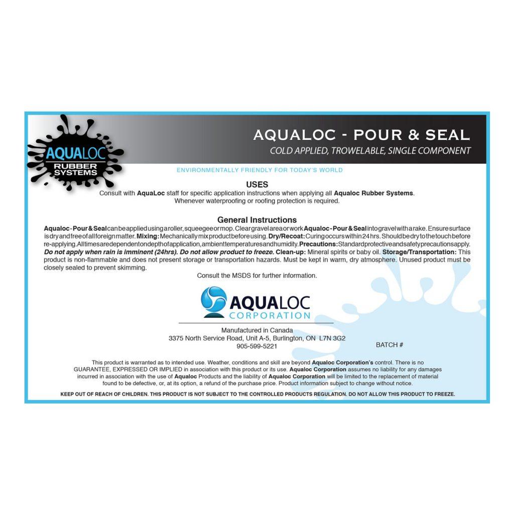 Pour & Seal